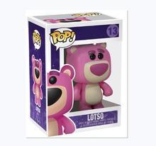 FUNKO POP 장난감 LOTSO Story 3 비닐 액션 피규어 컬렉션 모델 어린이를위한 장난감 생일 선물