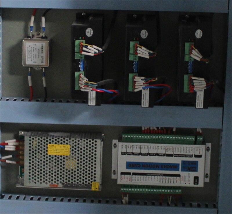 AKM0215 3.0kw broche de refroidissement par eau offre spéciale chine routeur de CNC en bois avec axe rotatif