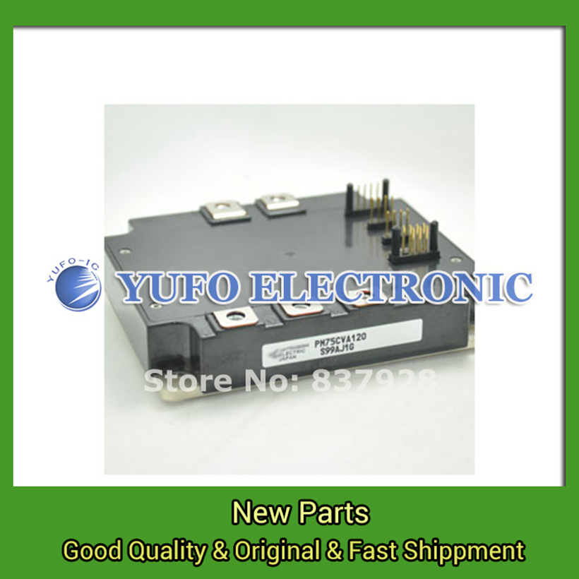 Free Shipping 1PCS  PM75CVA120  power module Special supply genuine original Welcome to order YF0617 relay free shipping 1pcs cm400ha 24h power module the original new offers welcome to order yf0617 relay