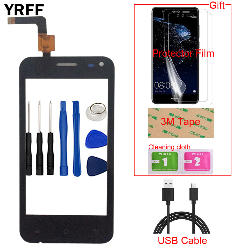 4.0'' Mobile Phone TouchScreen Touch Screen For Micromax Bolt A79 Touch Screen Front Glass Digitizer Panel Sensor Tools Gift
