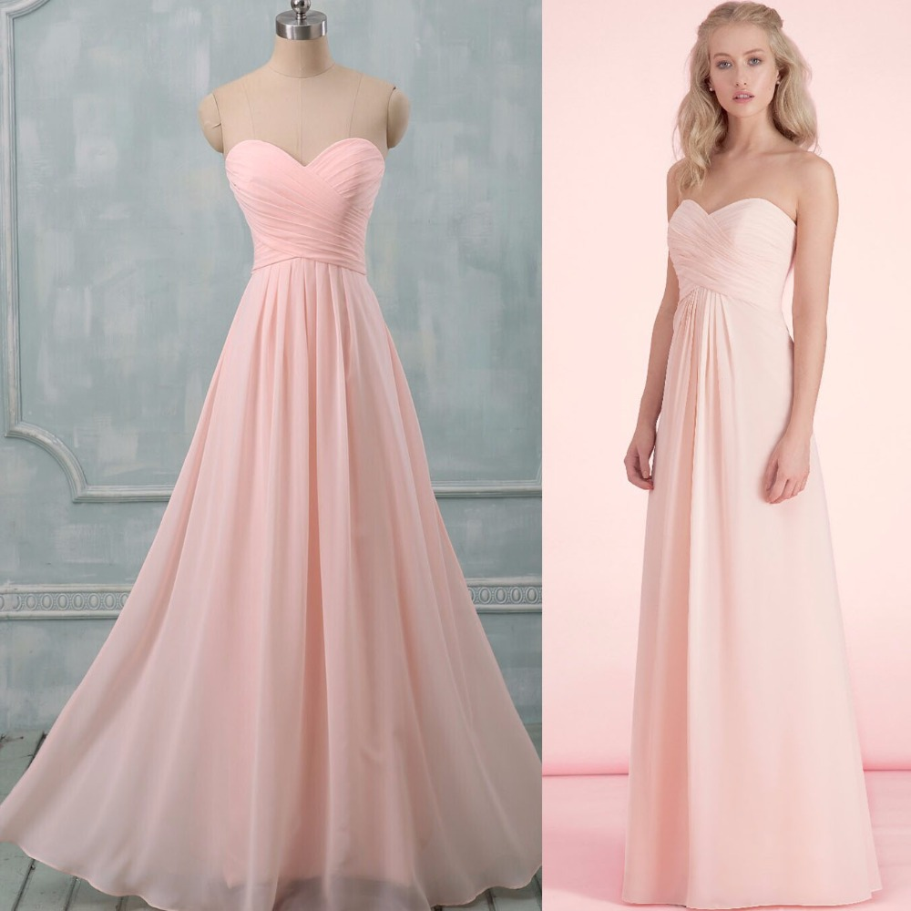 Pastel Pink Evening Gown | Dress images