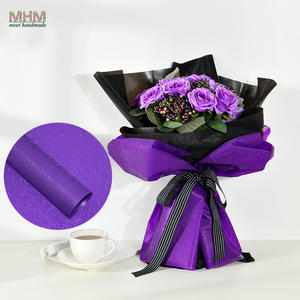 Low price for fresh flower wrapping paper 10pc 6060cm paper package flowers gift packaging materials mightylinksfo