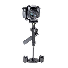 S40 Aluminum Alloy Mini Camera Stabilizer Handheld DSLR Steadicam Camera Video Support for Canon Nikon Sony Gopro