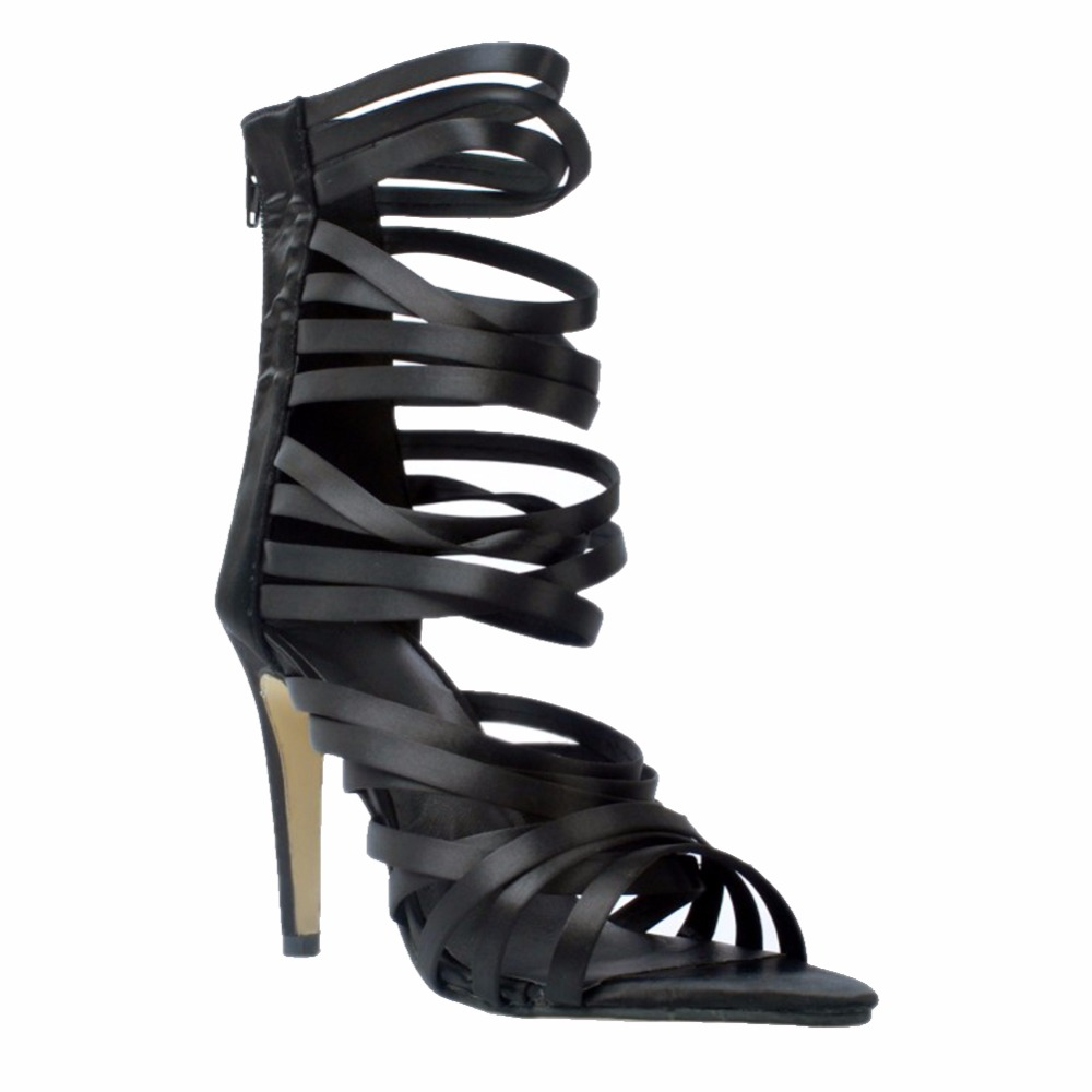 Womens Handmade Fashion Sexy Ankle Strap Zipper High Heel Summer Party Office Sandals Shoes ada instruments ruber x32