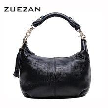 Натуральная воловья кожа с кисточками Хобо, женская сумка из натуральной кожи, женская сумка через плечо B210