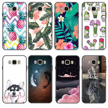 Printing Case For Samsung Galaxy J5 J7 J3 2017 Ultra Thin Cactus Plants Cover For Samsung J5 J7 J3 2016 J4 J6 J2 Pro 2018 Coque(China)