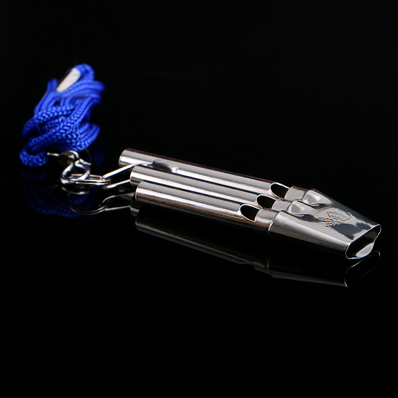 Roestvrij staal Loder Sound Seedless Professional Instrument Whistle - Team sporten - Foto 3