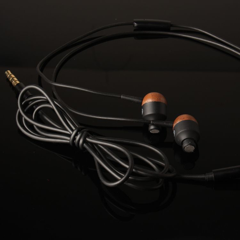 BLON B2M 2017 HIFI In Ear Earphone Sport Subwoofer Wire with Microphone Wood Earphones Dynamic Earbuds For Mobile Phone iPod MP3 kz ed8m earphone 3 5mm jack hifi earphones in ear headphones with microphone hands free auricolare for phone auriculares sport