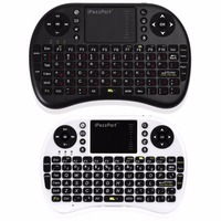 I8 Mini Wireless Keyboard 2 4ghz Russian Version Air Mouse Keyboard Touchpad Remote Control For MINI