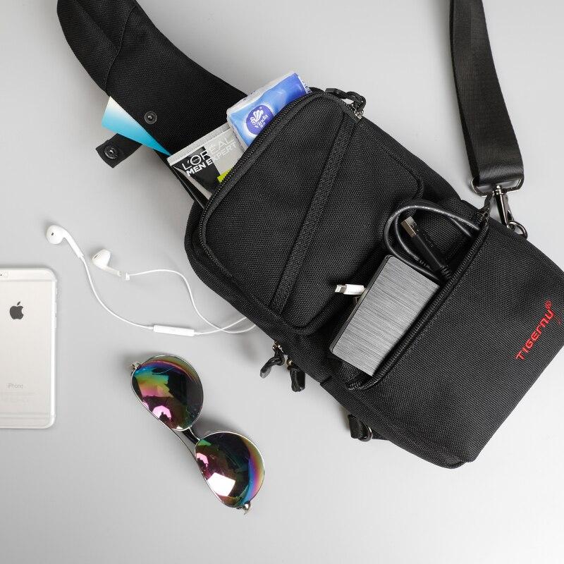 Tigernu Brand New Men's Messager Bag Business Shoulder Bags Leisure Sling Bag Women Messenger Mini Chest bags for 9.7