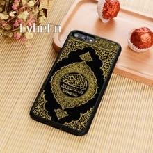 LvheCn подлинный Коран Кожаный тисненый чехол для телефона iPhone 11 Pro X XR XS MAX 5 6S 7 8 Plus samsung S 6 s 7 s8 s9 s10