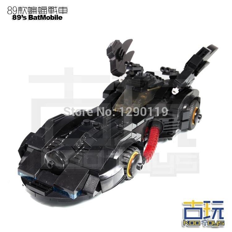 ФОТО MOC 398pcs BATMAN Movie vs SUPER MAN 89's BatMobile TUMBLER Car Super Heroes Assemble Model Building Blocks minifig Kids Toys