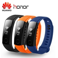 Huawei Honor Band 3 Smart Wristband Swimmable 5ATM OLED Screen Touchpad Continual Heart Rate Monitor Push Message Smartband