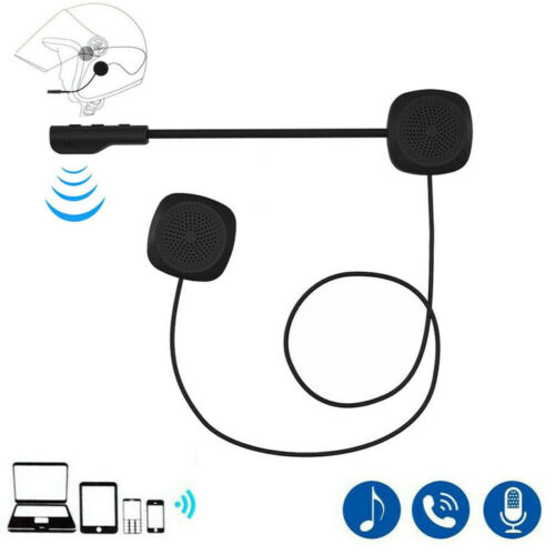 Helmet Headset Speaker Headphone for Bluetooth Motorcycle Intercom Interphone