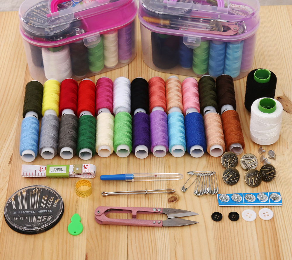 Household Sewing Box Set  Thread  Large    Special Storage