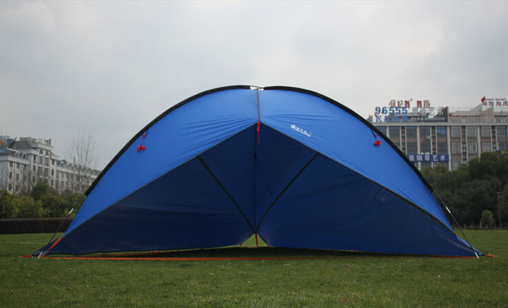 2Walls Tarp tent Top quality marquee account large flysheet 4 8m suitable for family outdoor traveling