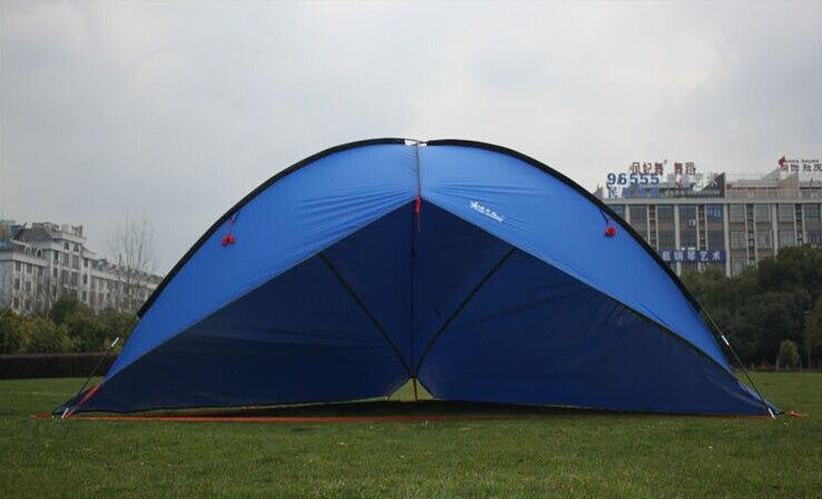 2 murs! tente de bâche/compte de chapiteau de qualité supérieure/grand flyleaf 4.8 m adapté aux voyages en plein air en famille