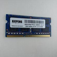 Mémoire de serveur d'ordinateur portable DELL Precision M6800 M6600 M6700 M4800, 4 go, 8 go, DDR3L, 1600MHz, 1Rx8 PC3L-12800S, 2 go, 1600, 12800