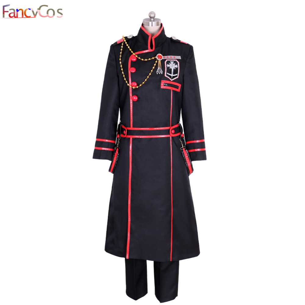 Halloween Men's D.Gray-man III Kanda Yu Season Uniform 3rd Version Set  Cosplay Costumes Adult Costume ovie High Quality