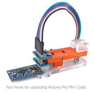 Image 3 - Programmer Module Test Tool PCB Test Fixture 1 * 6P Gold plated Probe Use to test module, board Upload code for Arduino Pro Mini