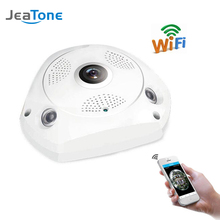 JeaTone 360 Camera IP Fish Eye Panoramic 1080P 2.0MP HD WIFI PTZ 3D VR Camera Audio Remote Home Monitoring camera surveillance