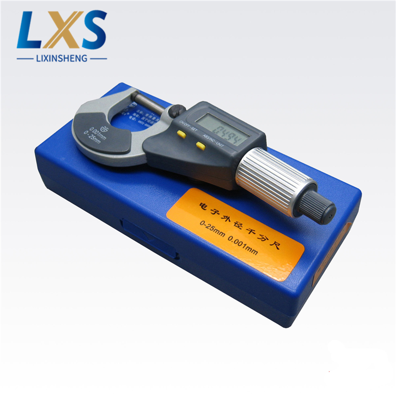 Electronic Digital Micrometer XC01 0.001mm Micron Outside Micrometer Caliper Gauge Measuring Tools