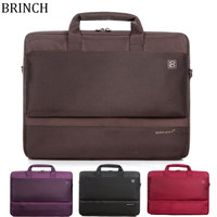 Computer Bag 15 17 inch waterproof Nylon Shoulder Laptop Bag For Macbook Pro HP Dell Lenovo Tablet PC Handbag Briefcase Bags