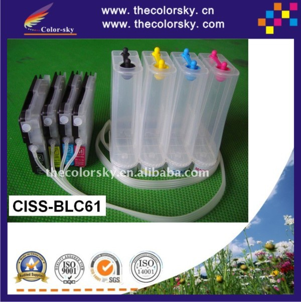 ФОТО (CISS-BLC61)  CISS ink tank continuous ink supply system for Brother MFC 290C 490CN 490CW 670CD 670CDW 790CW 930CDN free Fedex