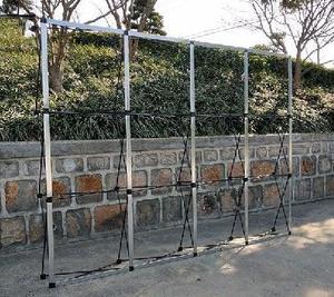 Image 2 - 4 tamanhos de metal ferro flor parede dobrável suporte quadro casamento pano de fundo decoração banner apresentação publicidade prateleira titular