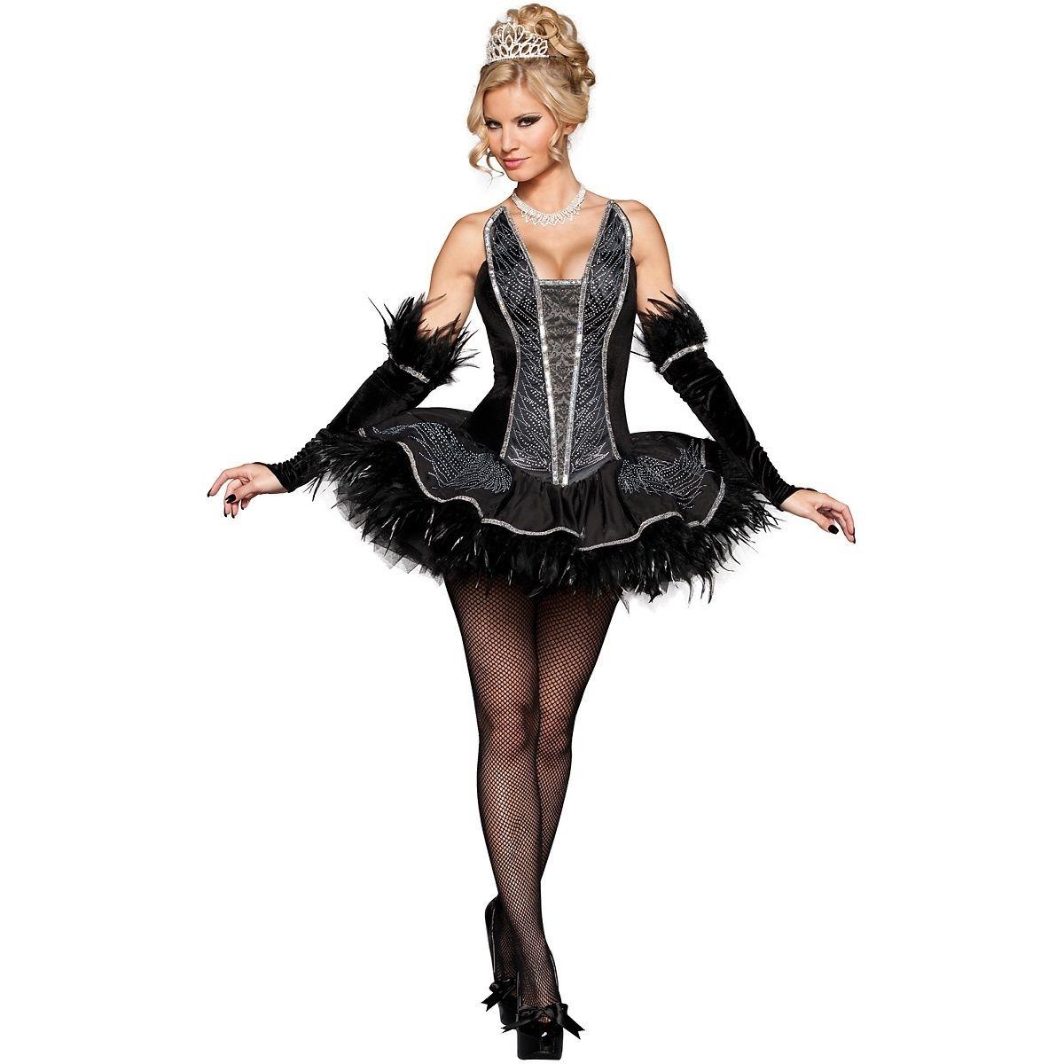 black swan costume adult sexy ballerina halloween fancy dresschina mainland - Halloween Ballet Costumes