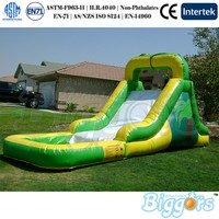 Inflatable Slide Outside Water Pool Games Inflatable Slide For Fun