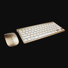 Mouse Keyboard 2.4GHz Ultra-Thin Wireless Keyboard and Mouse Combo Computer Accessories For Apple Mac PC Win XP/ 7/8
