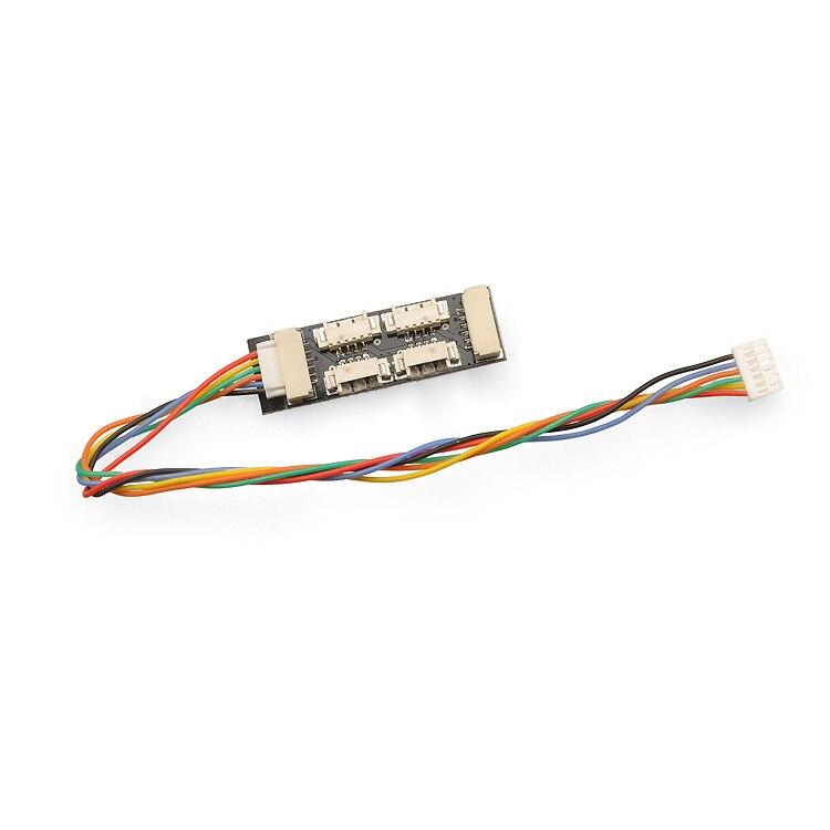 Pixracer I2C IIC Port Splitter board Expansion board für Pixracer Flight Controller Fluggeschwindigkeit GPS Optische durchflussmesser