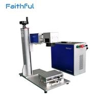 10 Watt 20 Watt 30 Watt faser edelstahlblech gravur aluminium laserbeschriftungsanlage