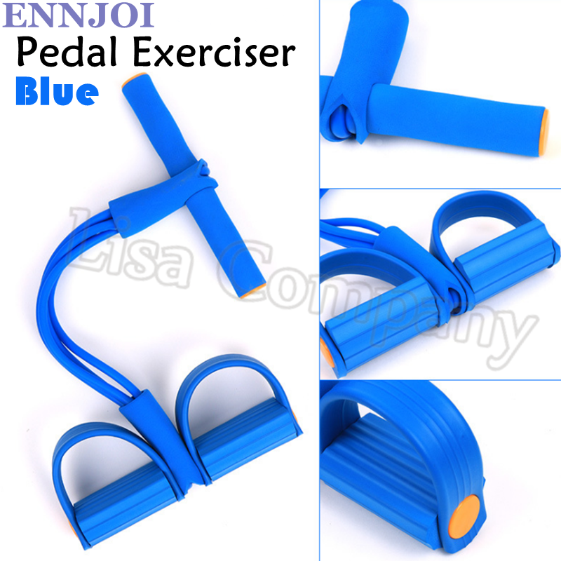 NEW Design Four Tubes 6 Colors High Strength Resistance Bands Puller Exercise