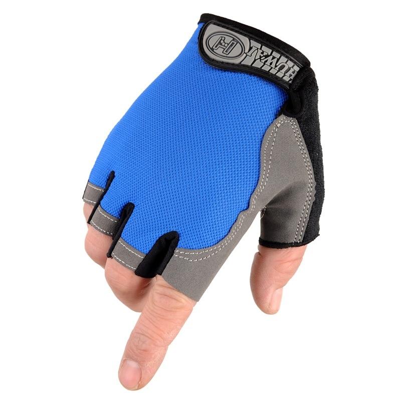 Outdoor Fitness Gloves: HETOBETO Fitness Half Finger Gloves Exercise Training