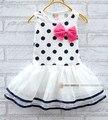 2016 verano 0-3 años de los bebés visten vestidos de menina niños sudor vestidos de flores ropa de bebé traje del partido princesa chaleco