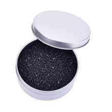 1 Pc Portable Round Cleaning Sponge Cosmetic Cleaner for Eyeshadow Iron Box for Eye Lip Face Powder Good Beauty Makeup Tools