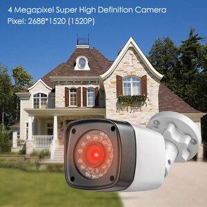 Image 2 - Kamera CCTV HD 4MP 8CH 6w1 ahd dvr H.265 System nadzoru wodoodporna kamera zewnętrzna System bezpieczeństwa wideo CCTV P2P HDMI Kit