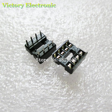 20PCS/Lot New 8Pin Socket DIP IC Sockets Adaptor Solder Type Socket Kit Wholesale Electroni