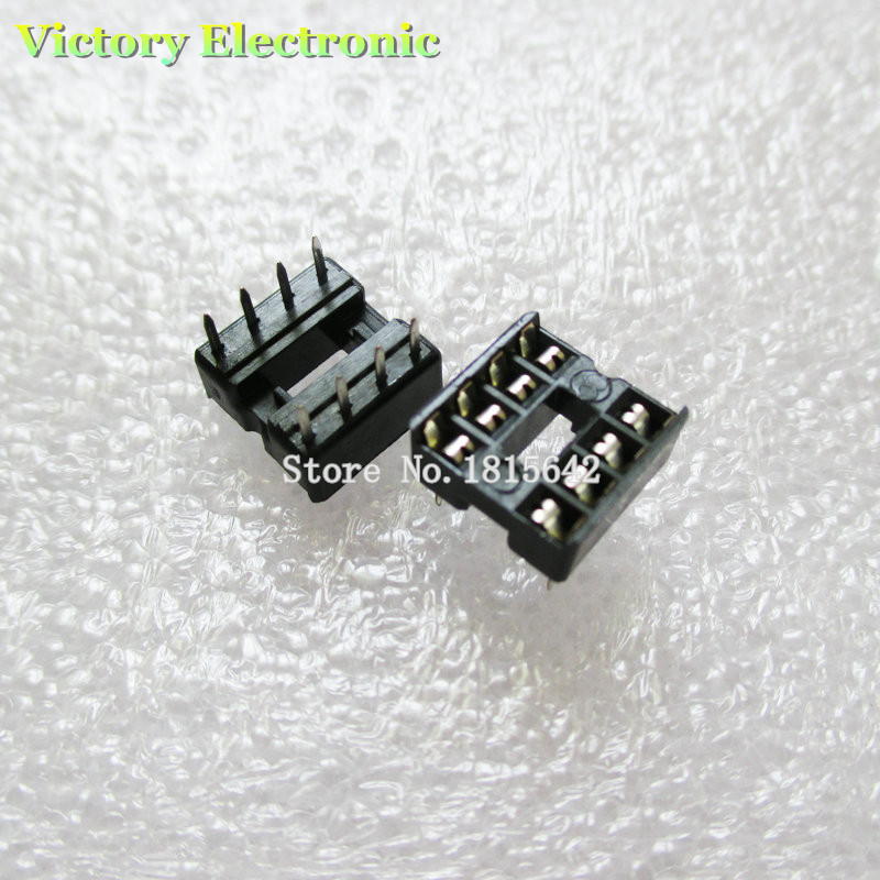 5 PCS 28pin 28-Pin DIL DIP IC Socket PCB Mount Connector NEW