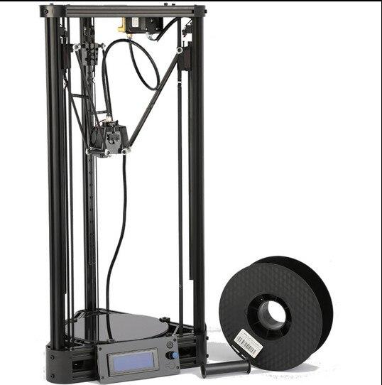 3D Imprimante Poulie Version Linéaire Guide DIY Kit Kossel Delta Auto Nivellement Grande Taille D'impression 3D En Métal Imprimante