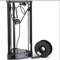 3D Printer Pulley Version Linear Guide DIY Kit Kossel Delta Auto Leveling Large Printing Size 3D Metal Printer