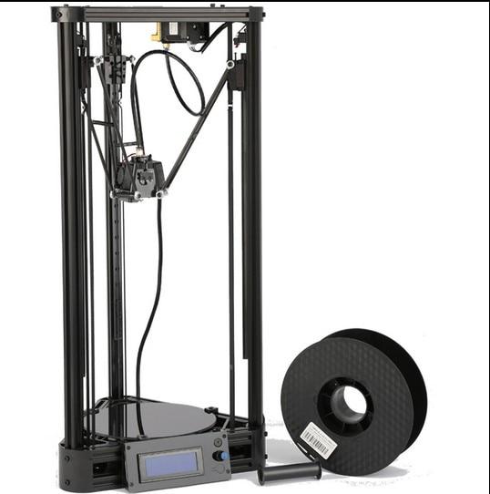 3D Printer Pulley Version Linear Guide DIY Kit Kossel Delta Auto Leveling Large Printing Size 3D Metal Printer цена