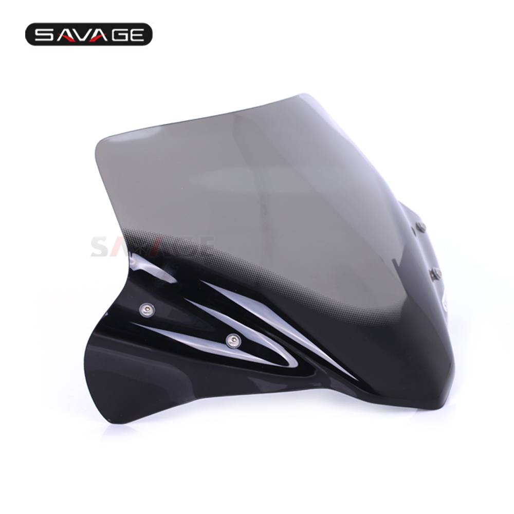 Artudatech Motorbike Windshield Front Motorcycle Windscreen Wind Shield Windshields Wind Screen for H-O-N-D-A NC700S//NC750S 2012 2013 2014