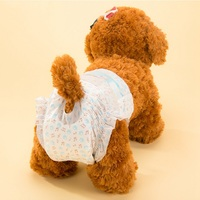 New Arrival Pet Diapers Female Dog Disposable Leakproof Nappies Puppy Super Absorption Physiological Pants 10PCS Bag