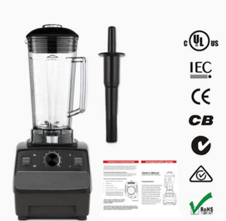 2L Commercial Home Smoothie Blender Fruit Juicer Food Mixer High Performance Pro commercial blender mixer juicer power food processor smoothie bar fruit electric blender ice crusher