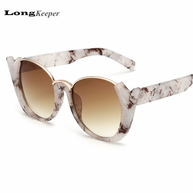 82cd3c4e7994 LongKeeper Half Frame Sunglasses for Women Men Round Rim Sunglasses  Steampunk Sun Glasses Retro Vintage Eyewares UV400 K1543