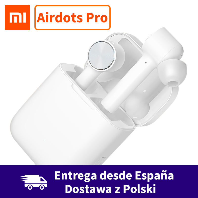 Xiaomi Air TWS Airdots Pro Wireless Earphone Bluetooth Headset ANC Noice Cancelling Switch Auto Pause Tap