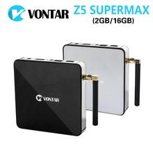 [Подлинная] VONTAR Z5 SUPERMAX Amlogic S912 Окта основные Android 6.0 ТВ коробка 2 Г/16 Г 2.4 Г/5 ГГц WI-FI Gigabit LAN Google Play Set Top коробка